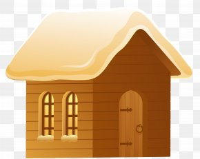 Winter Snowy House Picture - House Snow Home Icon PNG
