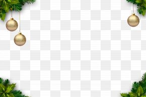 Christmas Border - Christmas Tree Christmas Ornament PNG