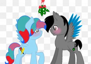 What Happens Under The Mistletoe - Pony Mistletoe Equestria Daily PNG