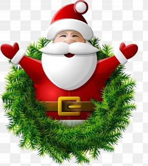 Christmas Greetings - Santa Claus Christmas Day Wall Decal New Year Christmas Tree PNG