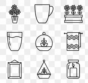 Home Interior - House Icon Design PNG