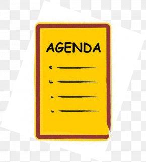 Agenda Cliparts - Agenda Meeting Board Of Directors Clip Art PNG