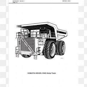 Dump Truck - Car Wheel Tractor-scraper Motor Vehicle Truck Dumper PNG