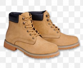 Camel Leather Boots - Combat Boot Shoe Footwear Clothing PNG