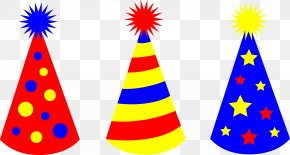 Party Hats Cliparts - Party Hat Birthday Clip Art PNG