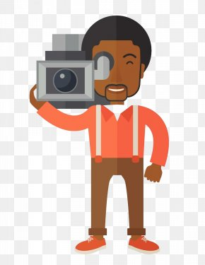 Cartoon Black Journalist - Journalist News Presenter Cartoon Journalism PNG