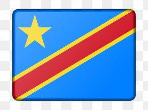 Flag - Flag Of The Democratic Republic Of The Congo United States PNG