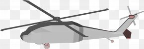 Helicopter - Helicopter Sikorsky UH-60 Black Hawk Low Poly 3D Computer Graphics Clip Art PNG