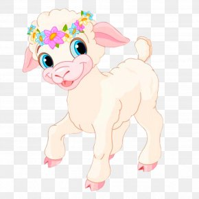 Sheep - Easter Bunny Sheep Goat Clip Art PNG