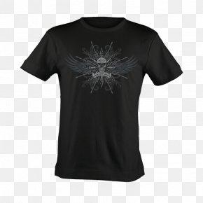 Skull T-shirt Printing - T-shirt Leatherman Hoodie Sleeve Clothing PNG