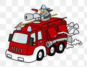 Firetruck Clipart - Fire Engine Fire Station Fire Department Firefighter Clip Art PNG