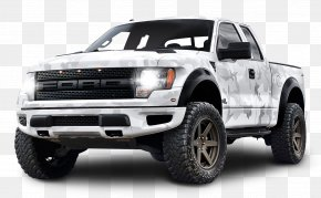 White Ford F 150 Raptor SUV Car - Ford F-Series Pickup Truck Car Sport Utility Vehicle PNG