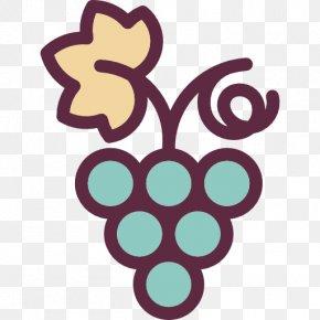 A Bunch Of Grapes - Frutti Di Bosco Grape Fruit Icon PNG