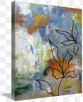 Fresh Arts And Literature - Watercolor Painting Modern Art Oil Painting PNG