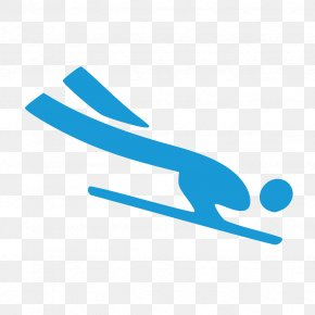 Winter Olympics - 2018 Winter Olympics Pyeongchang County Skeleton At The 2018 Olympic Winter Games Alpine Skiing PNG