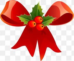 Christmas Clip Art - Ribbon Christmas Gift Clip Art PNG