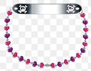 Contracted Fashion Skull Border - Family Christmas Gift Jewellery Necklace PNG