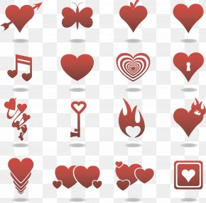 Free Valentine's Day Icon To Pull Material - Heart Euclidean Vector Icon PNG