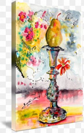 Ink Watercolor Painting - Still Life Photography Acrylic Paint Watercolor Painting Modern Art PNG