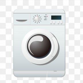 White Washing Machine Image - Washing Machine Clothes Dryer Cleaning PNG
