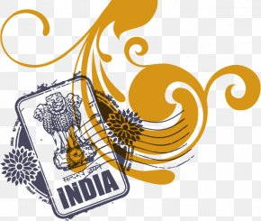 India - Indian Passport Passport Stamp Rubber Stamp PNG