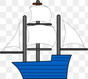 Ship Outline - Sailing Ship Free Content Clip Art PNG