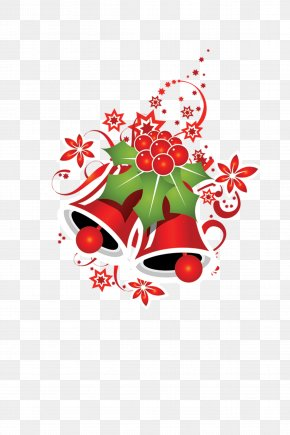 Creative Christmas Bells - Santa Claus Christmas Jingle Bell Clip Art PNG