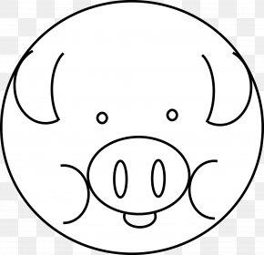 Pig Line Art - Vietnamese Pot-bellied Clip Art PNG