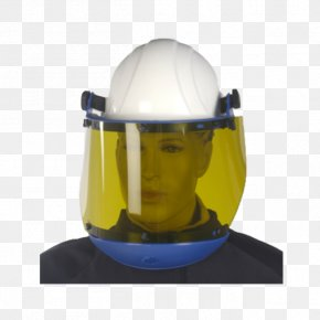 Ppe Face Shield - Face Shield Hard Hats Personal Protective Equipment Visor PNG