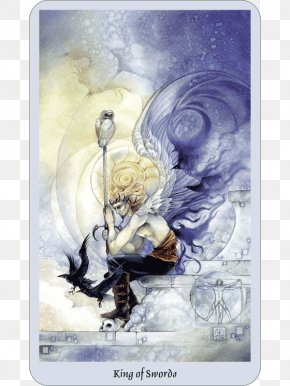 Swords - Shadowscapes Tarot King Of Swords Suit Of Swords Minor Arcana PNG