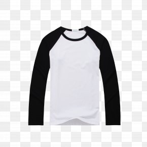 T-shirts - Long-sleeved T-shirt Raglan Sleeve PNG