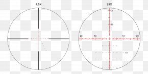 Smudges - Telescopic Sight Reticle Angle Minute Of Arc PNG