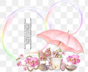 Summer Picnic - Floral Design Pink M PNG