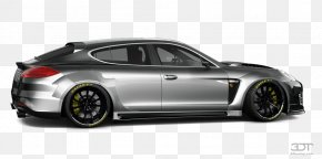 Car - Porsche Panamera Mid-size Car Alloy Wheel Tire PNG
