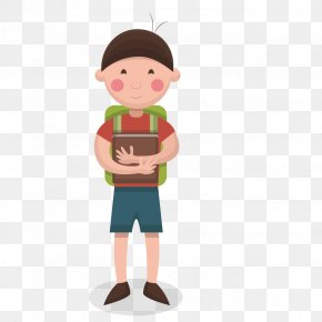 Vector School Boy - Boy PNG