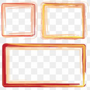 Frame Orange - Clip Art Image Adobe Photoshop Openclipart PNG
