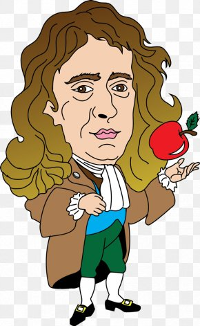 Newton Cliparts - Isaac Newton Newtons Laws Of Motion Clip Art PNG