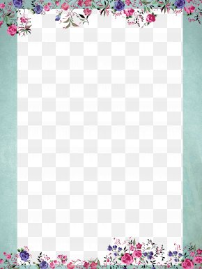 Summer Fresh Plant Borders - Summer Poster PNG