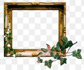 Vintage Photo Frame - Picture Frames DeviantArt Clip Art PNG