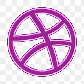 Logo Peace - Designer Icon Dribbble Icon Line Icon PNG