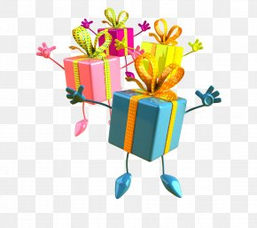 Gift - Happy Birthday To You Party Wish Gift PNG