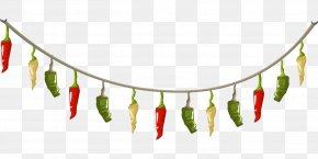 Pepper String - Chili Con Carne Spice Chili Pepper PNG
