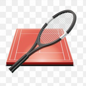 Red Tennis And Tennis Courts Graphics - Tennis Ball Game Of Dragon Tennis Ball Sport PNG