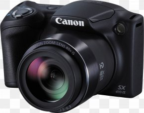 Digital Camera - Canon PowerShot SX400 IS Canon Digital IXUS Canon PowerShot SX410 IS Camera PNG