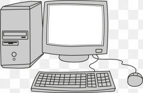 Cartoon Computer - Laptop Computer Monitors Desktop Computers Personal Computer Clip Art PNG