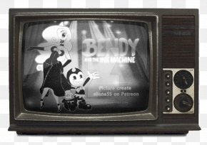 Television Set Bendy And The Ink Machine Television Show Fernsehserie PNG