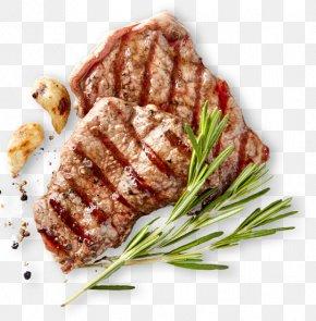 Barbecue - Sirloin Steak Beefsteak Barbecue Flat Iron Steak PNG