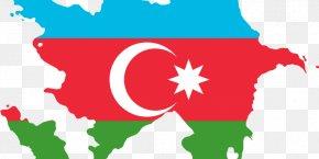 Flag Of Azerbaijan - Flag Of Azerbaijan Azerbaijan Soviet Socialist Republic Map PNG