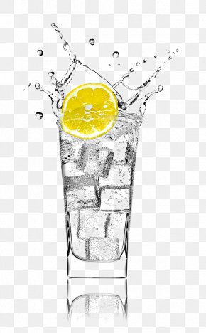Lemonade,Splashes - Gin And Tonic Soft Drink Lemonsoda Juice Tea PNG