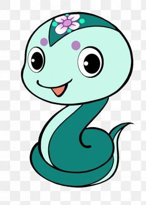 Cartoon Snake - Snake Chinese Zodiac Chinese Astrology Horoscope PNG